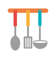 Kitchen design vector image vector image