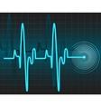 electrocardiogram vector image vector image