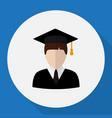 of job symbol on student flat vector image