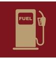 The gas station icon Gasoline and diesel fuel vector image