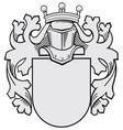aristocratic emblem No36 vector image vector image