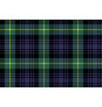 gordon tartan fabric texture seamless pattern vector image
