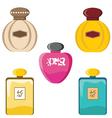 Perfumery set vector image vector image