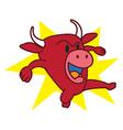 Bull Angry vector image