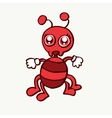 Cute ant design for kids cartoon vector image