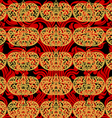 Seamless asian art pattern abstract background vector image