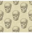 skull seamless vector image