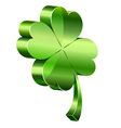 3d clover vector image vector image