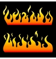 Fire Elements vector image