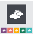 cloudiness vector image vector image