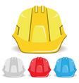 Safety Helmet set vector image