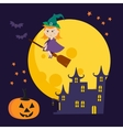 cute Halloween vector image