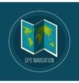 gps navigation design vector image