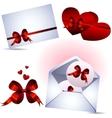 valentine set vector image