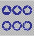 set of geometric logo pattern fashion graphic vector image