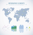 Info graphic elements vector image vector image