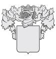 aristocratic emblem No39 vector image vector image
