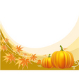 thanksgiving border vector image