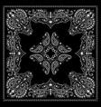 bandana decorative ornament vector image
