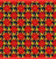 soft tile vintage flowery pattern frourish vector image
