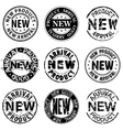 New product arrival good stamps vector image vector image