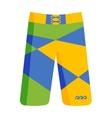 Swimming shorts vector image