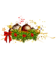 icon christmas background vector image