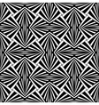 Seamless geometric design vector image