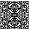 Seamless geometric design vector image vector image