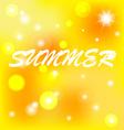 Background summer vector image