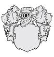 aristocratic emblem No40 vector image