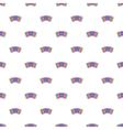 Accordion pattern cartoon style vector image