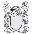 aristocratic emblem No41 vector image