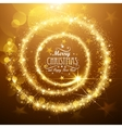 Christmas Magic Star vector image vector image