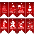 Price tags set vector image