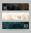 Labels Abstract Geometric design modern vector image