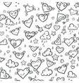 Funny Valentine Hearts vector image