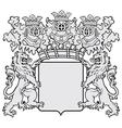 aristocratic emblem No42 vector image