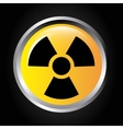 atomic signal button isolated icon design vector image