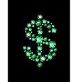 Gem Dollar vector image