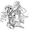 spartan vector image