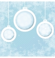 Grungy New Year Christmas background  EPS8 vector image vector image