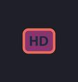 HD computer symbol vector image