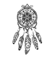 Indian dream catcher with ethnic ornaments vector image vector image