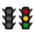 traffic light 03 vector image vector image