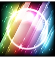 glowing stripes vector image vector image