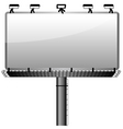 bill board vector image
