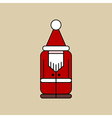 Christmas Elf Icon vector image