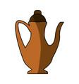 drinks mug cartoon vector image