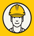 Hard hat safety - Construction worker sign vector image